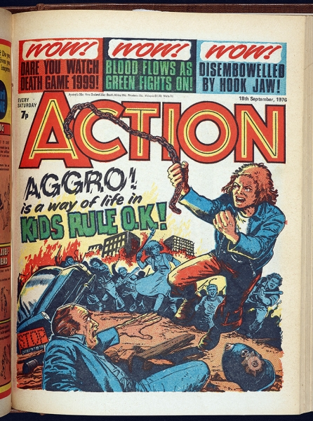 Action 1976-77, by Jack Adrian and Mike White