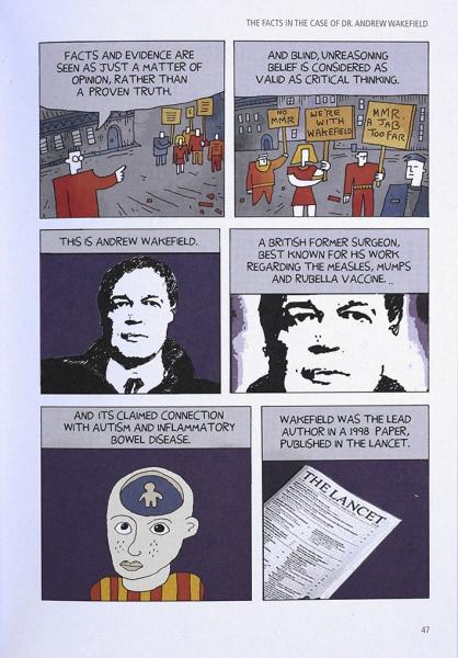Science Tales, by Darryl Cunningham