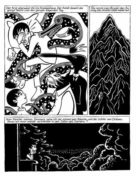 David B. »Die Heilige Krankheit. Schatten« – 2