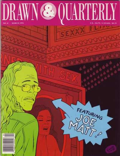 Drawn & Quarterly Magazine #4