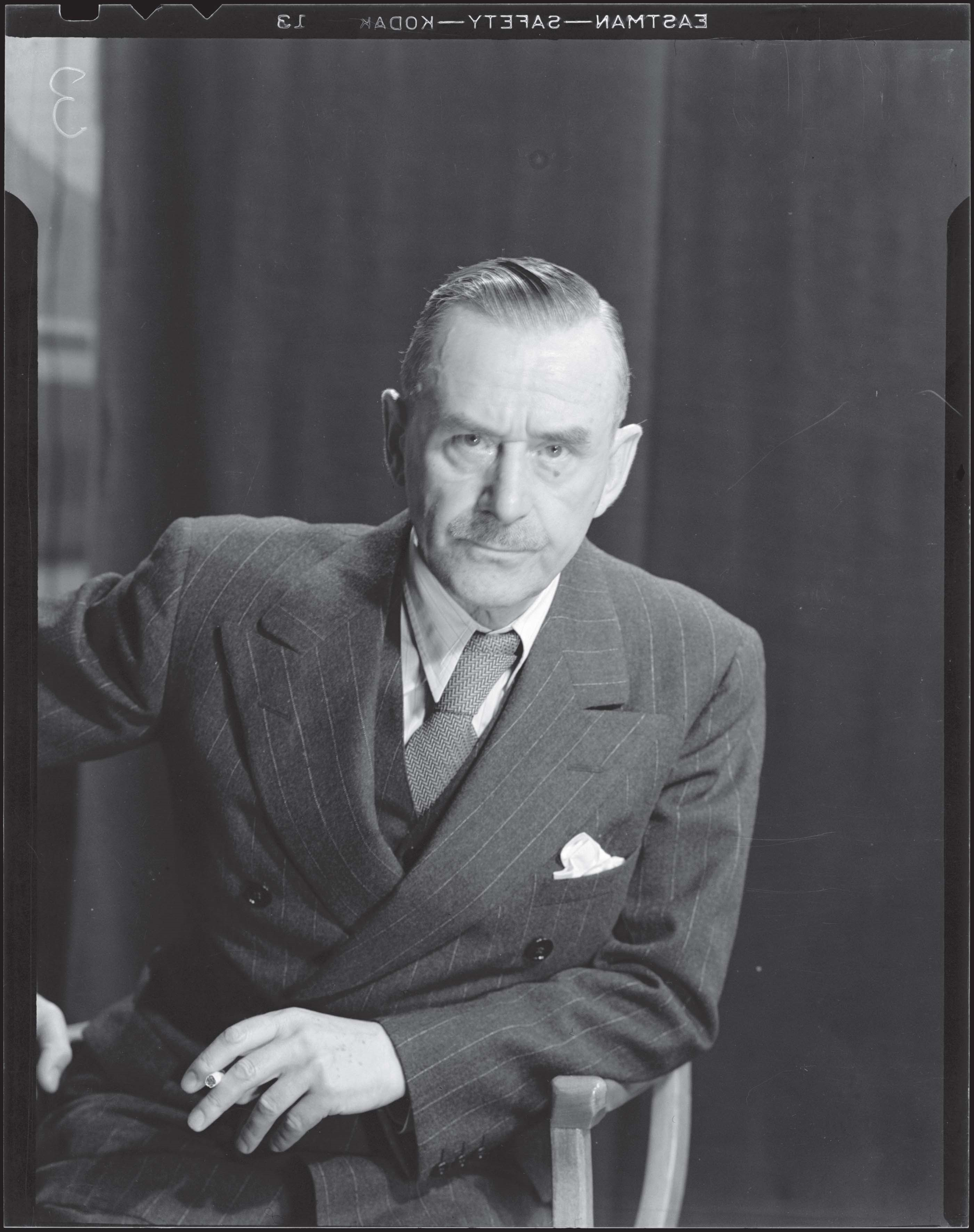 Thomas Mann by Man Ray