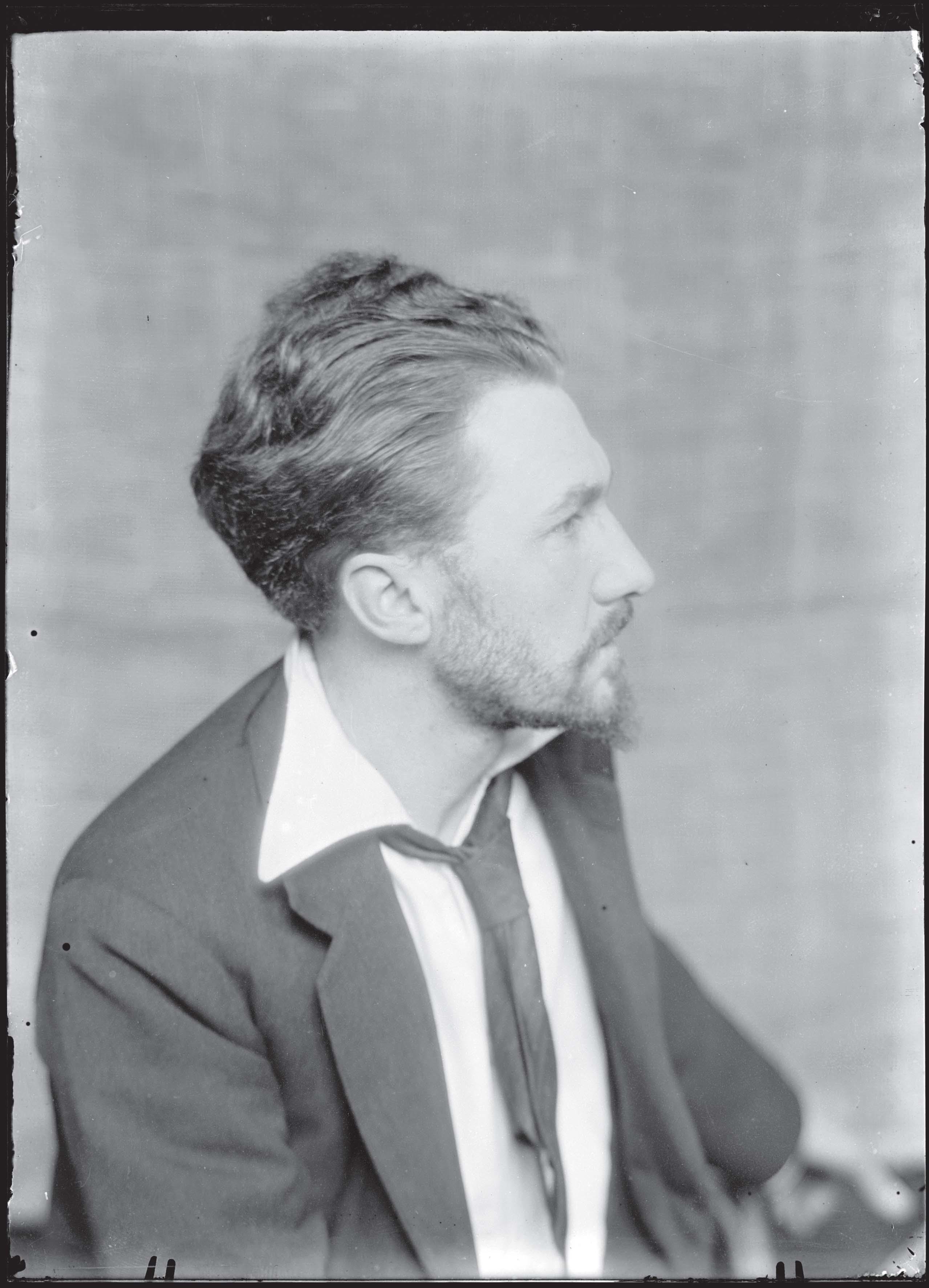 Ezra Pound by Man Ray