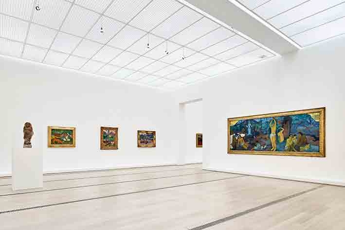Installationsansicht der Ausstellung « Paul Gauguin » 2
