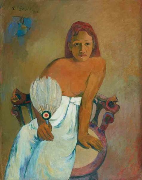 Femme à l'éventail, 1902