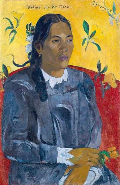 Vahine no te tiare, 1891