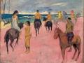 Cavaliers sur la plage (II), 1902