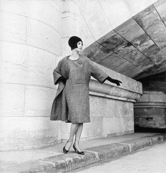 Willy Maywald: Modell von Nina Ricci, 1965