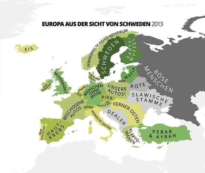 Europa aus der Sicht der Schweden