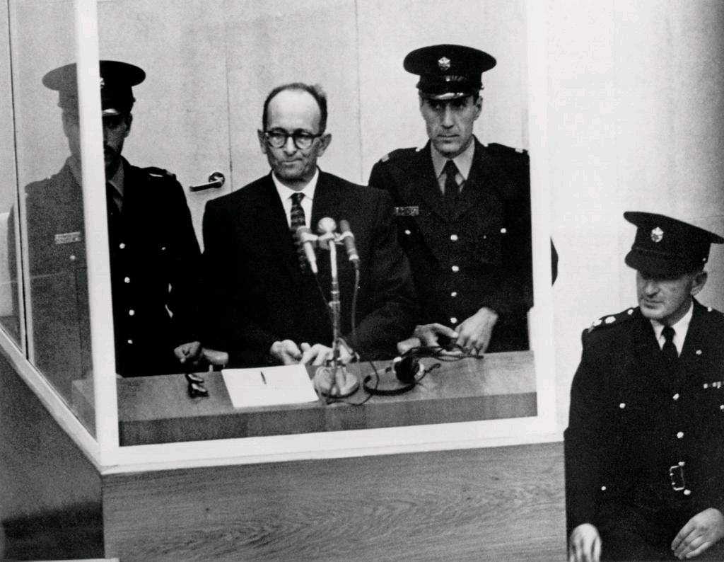 Adolf Eichmann on trial
