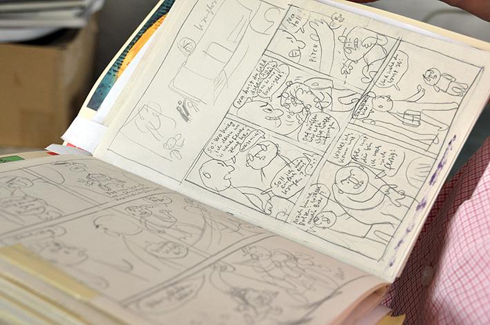 Einblicke in Mawils Skizzenbuch