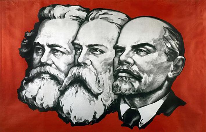 Karl Marx, Friedrich Engels, Lenin