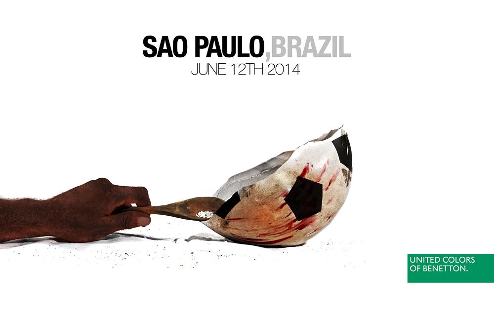 Radical Advertising zu Fußball-WM 2014