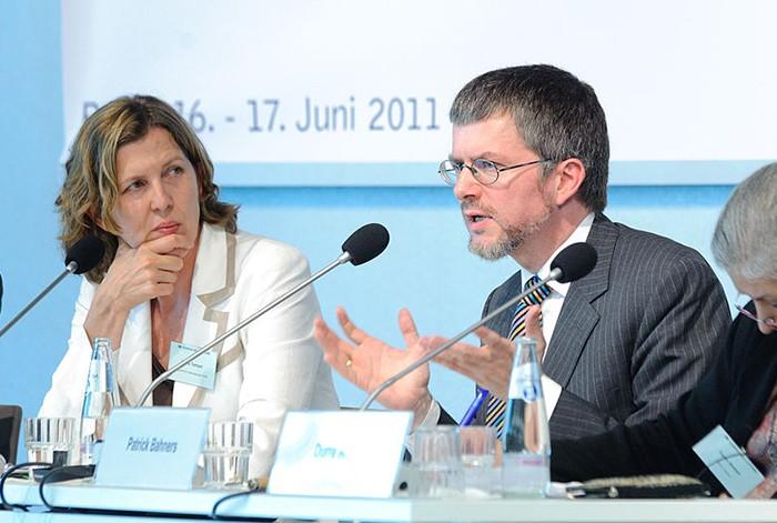 Patrick Bahners auf einer Tagung der Heinrich-Böll-Stiftung | © HBS via Flickr