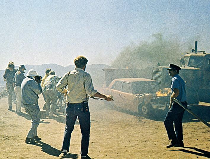 Szene aus »Duell« von 1971 | © Steven Spielberg