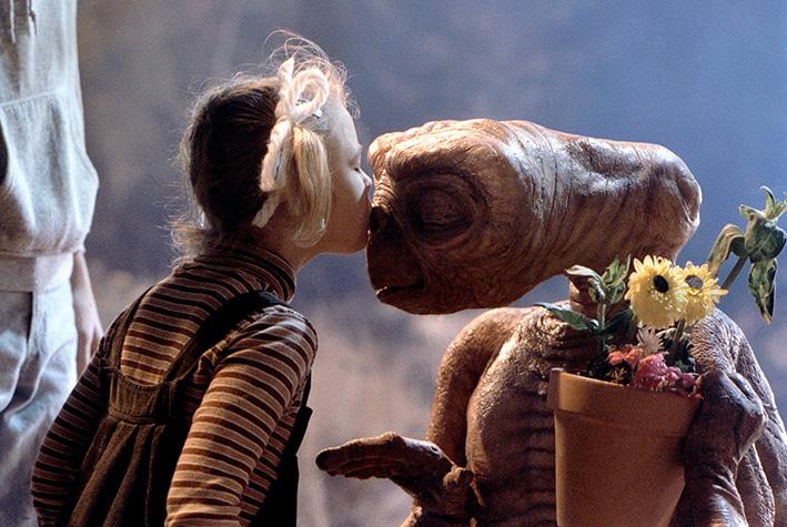 Szene aus »E.T. - Der Außerirdische« von 1982 | © Steven Spielberg