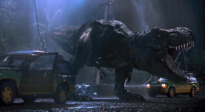 Szene aus »Jurassic Parc« von 1993 | © Steven Spielberg