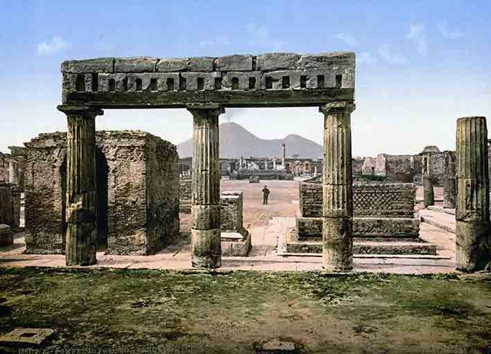 Pompeji - Pompeji - The Forum