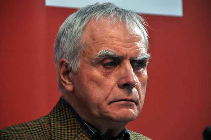 Moshe Kahn auf der Buchmesse in Leipzig
