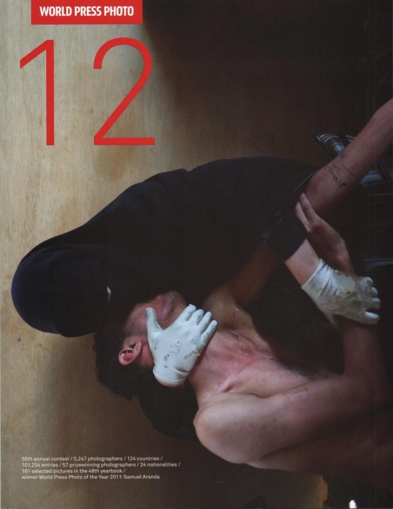 World Press Photo 12.Benteli-Verlag 2012.160 Seiten. 29,80 Euro.Hier bestellen