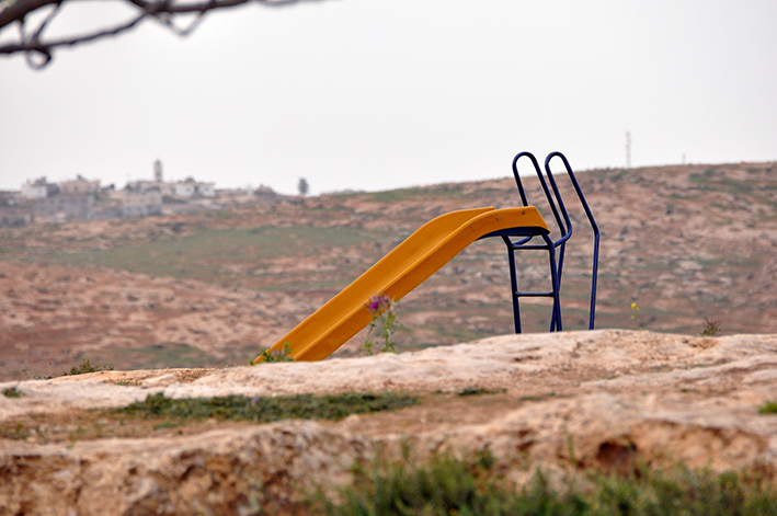 Noch ist der israelische Widerstand gegen die Verhältnisse der Besatzung in seinen Anfängen, aber er wird wachsen | Foto: Thomas Hummitzsch