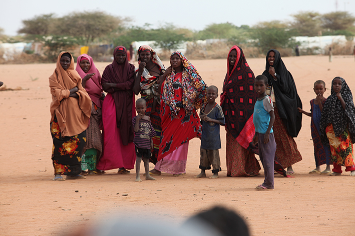 Hundreds of families are arriving in Dadaab camp every day