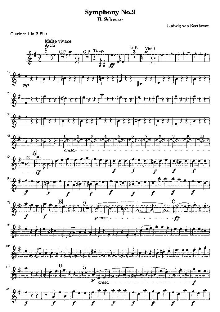 Auch Beethovens 9. Sinfonie spielt in diesem Geiger-Roman eine elementare Rolle | Wikimedia Commons