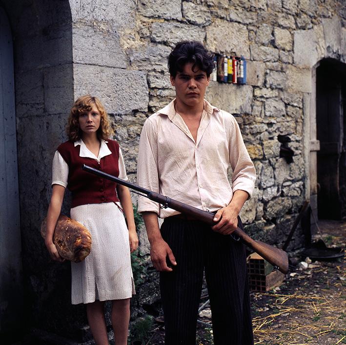 Pierre Blaise und Aurore Clément als Lucien Lacombe und France Horn in »Lacombe Lucien« | Louis Malle