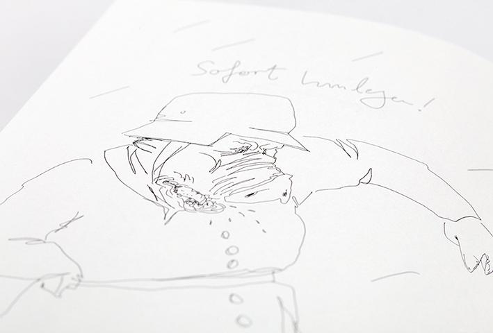 Sebastian Retter: Foc/Feuer | © Martin Mascheski/Edition Büchergilde
