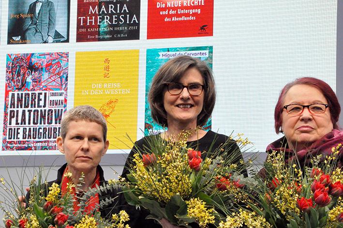 Erstmals ging der Preis der Leipziger Buchmesse in allen drei Kategorien an Frauen