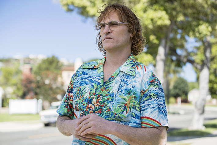 Joaquin Phoenix stars as John Callahan in DON'T WORRY, HE WON'T GET FAR ON FOOT.  © 2018 AMAZON CONTENT SERVICES LLC / Scott Patrick Green