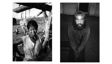 1. Frau im Verbrannten Land, Madagaskar, 1994; 2. Hugo Ramirez, Mexicali, Mexiko, 2005 | Fotos: William T. Vollmann