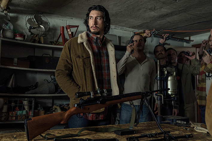 Adam Driver stars as Flip Zimmerman in Spike Lee's BlacKkKLansman, a Focus Features release. Credit: David Lee / Focus Features